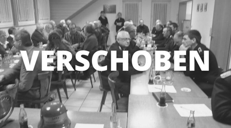 JHV Absage Feuerwehr Derneburg Astenbeck