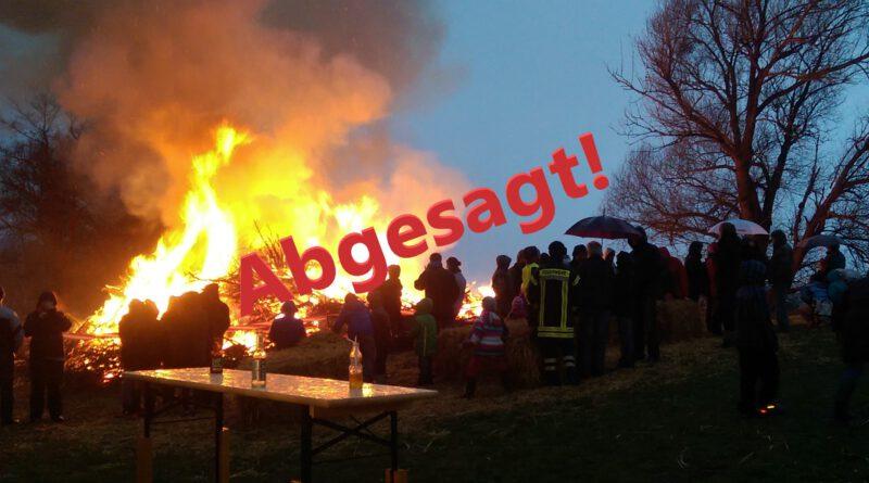 Absage Osterfeuer 2020 Astenbeck